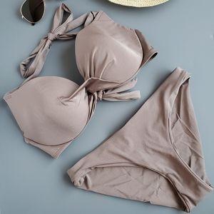H&M Taupe Bikini